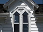 Crowell House Dormer Window (Woods Hole, MA)