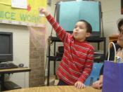English: Birthday of an autistic child.
