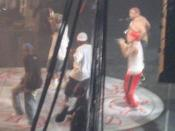 D12 performing live at the Anger Management Tour in 2005.