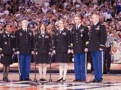 Final Four National Anthem