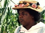 Winfrey as Sofia in The Color Purple.