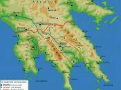 Territory of ancient Sparta. Data from Kaplan (dir.), Le Monde grec, Paris, 1995, p. 93.