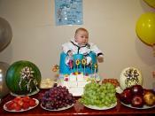 Alex 100 days (백일/Baegil) celebration