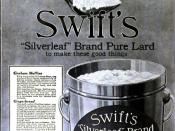 1916 advertisement for Swift's
