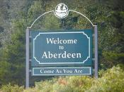 Cropped, straightened version of Image:Welcome to Aberdeen.jpg