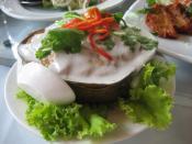 Thai style Otah (Hor mok).