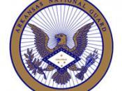 English: The Seal of the Arkansas National Guard