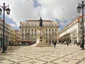 English: Camoens Square in Lisbon, Portugal Français : La place Luis de Camoens, à Lisbonne, au Portugal. Italiano: Piazza Luis de Camoens a Lisbona, Portogallo Português: Praça Luís de Camões, Lisboa, Portugal.