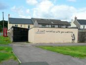 English: I can't vandalize... ...but I have got a sense of humor! Upper Bilson Street, Cinderford.