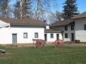 English: I, Moncrief, took this photo of Sutter's Fort in Sacramento in 2002