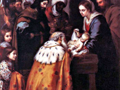English: Adoration of the Wise Men by Murillo