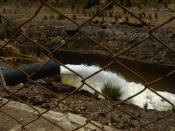 English: Sewage disposal. Taken in Peru.