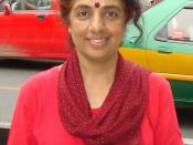 English: Photo of Shoba Raja