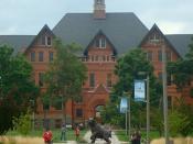 English: Montana Hall at Montana State University, Bozeman, Montana.
