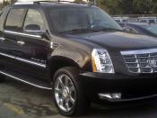 English: 2007 Cadillac Escalade EXT photographed in Montreal, Quebec, Canada. العربية: كاديلاك اسكاليد EXT