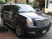 English: 2009 Cadillac Escalade Hybrid photographed in Washington, D.C., USA. العربية: كاديلاك هايبرد 2009 Category:Cadillac Escalade Hybrid