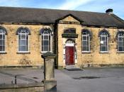English: Independent School, School Street Now part of the United Reformed Church premises