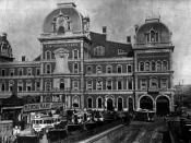 Grand Central Depot in 1880