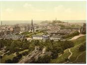 [Edinburgh from the castle, Scotland] (LOC)