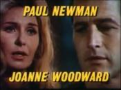 Cropped screenshot of and Joanne Woodward from the trailer for the film Winning