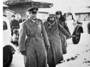 Paulus (left), and his aides Lt.-Gen. Arthur Schmidt (middle) and Col. Wilhelm Adam (right), after their surrender in Stalingrad