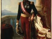 A low resolution image of a painting of a man