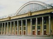 Sports Hall  Hala Sportowa, ks. Skorupki 21  Łódź  May 1991