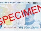 English: Reverse of 100 Turkish Lira Türkçe: 100 Türk Lirası'nın arka yüzü