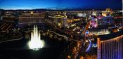 English: Las Vegas Strip Bellagio Caesar's Palace
