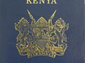 English: Kenyan passport
