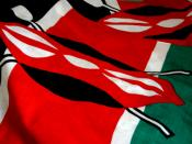 A variation on the Kenyan flag.