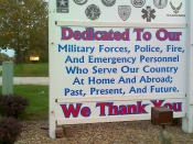 English: Paxton Thanks Those Who Serve our Community