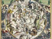 Atlas Coelestis. Harmonia Macrocosmica seu Atlas Universalis et novus, totius universi creati Cosmographiam generalem, et novam exhibens Studio et labore Andreae Cellarii, etc.     - caption: 'The constellations, with astrological signs of the zodiac.'