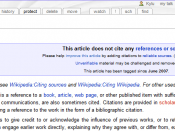 The Citation article, with no citations.
