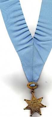 Español: esta es la medalla de abogados, otorgada a mi abuelo cuando se volvió colegiado en 1975
