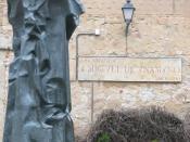 Español: Monumento a don Miguel de Unamuno de Salamanca