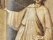 Giotto di Bondone (1267-1337), Cappella Scrovegni (Arena Chapel) a Padova, the Seven Vices: