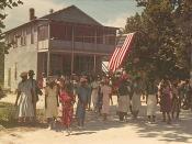 A Fourth of July celebration. St. Helena Island, South Carolina. (The building today houses the Gullah Grub restaurant.)