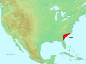 The Gullah region once extended from SE North Carolina to NE Florida.