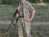 Hunter in Zambia