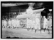 [Princeton University baseball players on parade, Class of 1912 (baseball)]  (LOC)