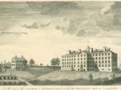 Chad Brown's original plot of farm land was located on the site of Brown University's University Hall