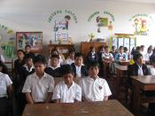 Transcendental Meditation (TM) is taught in 2,000 schools in Latin America, here in Peru, through the David Lynch Foundation, the program is called