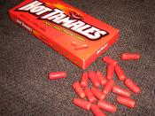 An image showing a package of Hot Tamales