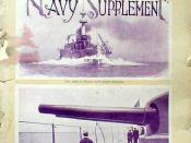 Cover of Scientific American Special Navy Supplement -