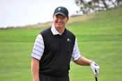 Photo of golfer Ernie Els at the 2009 President's Cup at Harding Park in San Francisco