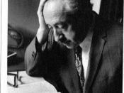 English: Photo portrait of philosopher Eliezer Berkovits