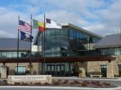 English: Church of the Nazarene world ministry headquarters in Lenexa, Kansas