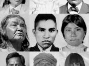 English: Collage of Pima/Papago Native Americans from public domain sources