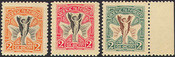 1922 Irish postage stamp essays printed by Hely ltd.